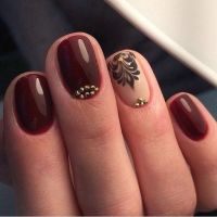 1000+ ideas about Maroon Nails on Pinterest | Maroon Nail ...