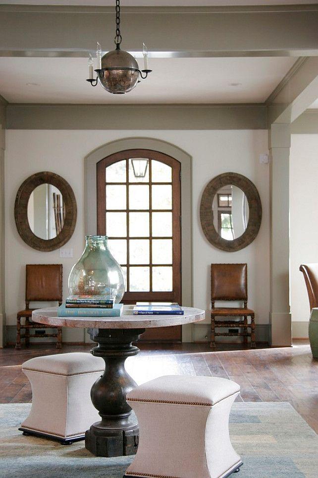 Interior Design Ideas Trim paint Color is Benjamin Moore