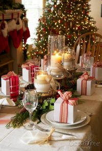 Best 25+ Christmas Tablescapes ideas on Pinterest
