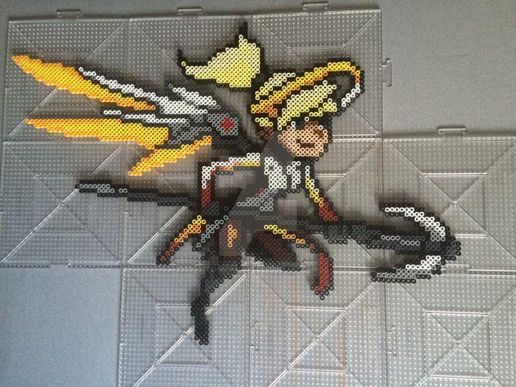 Beads Bastion Overwatch Perler