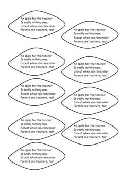 108 best images about Back to School/parent handouts on