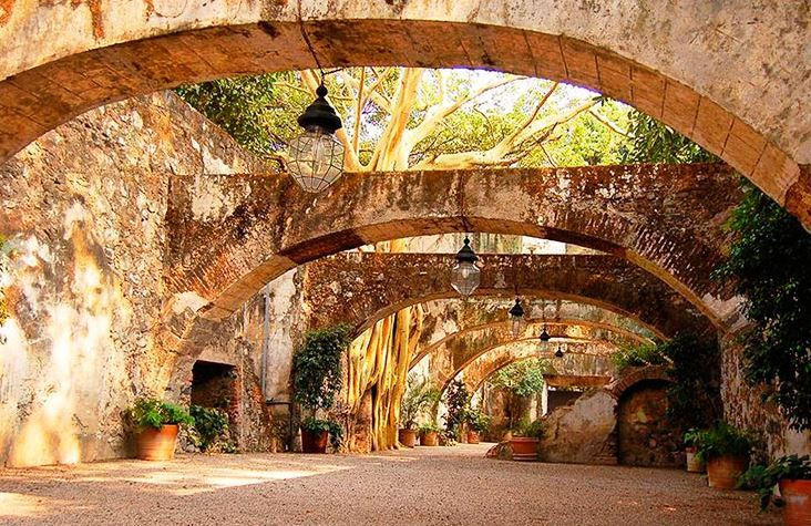 Mexico Wedding Venue Old World Elegance Historic Site Beautiful Classy Elegant Rustic