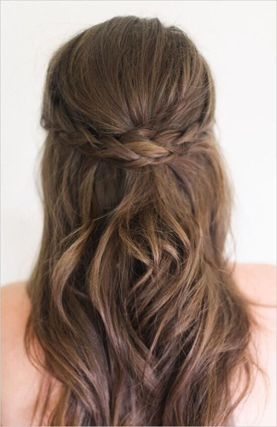 25 Best Ideas About Pulled Back Hairstyles On Pinterest Bobby