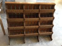Antique Country General Store Wood Candy Counter Glass ...