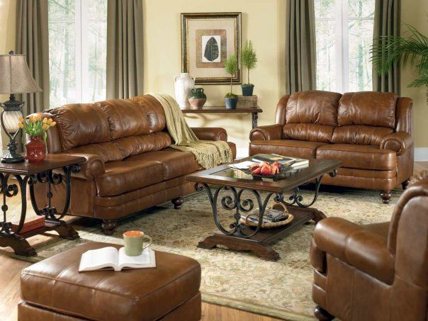Leather Couch Decorating Ideas Living Room Brown Leather Sofa Decorating Ideas | Iinterior Design For