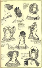 1670's hairstyle 1600-1700 fashion