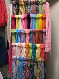 25+ best ideas about Scarf Rack on Pinterest