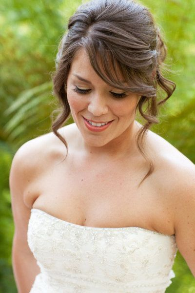 25 Best Ideas About Medium Length Bridal Hair On Pinterest