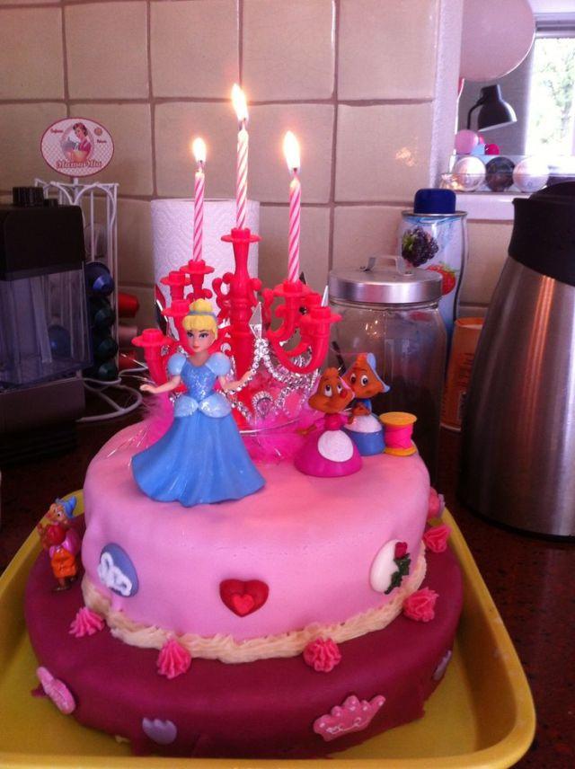 Birthday cake for my 3 years old girl traktaties