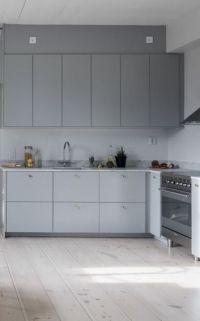 Grey kitchens, Light grey kitchens and Floors on Pinterest