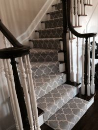 Best 25+ Carpet stairs ideas on Pinterest | Striped carpet ...
