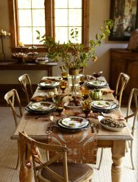 Williams-Sonoma Harvest Table | The Thanksgiving Table ...