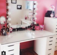 DIY makeup vanity | Beauty | Pinterest | Diy makeup ...