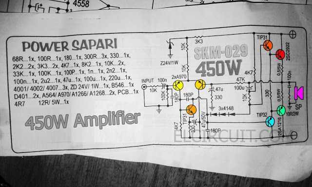 Amplifier Circuit Diagram Tda2030 35 Watt Audio Amplifier Circuit