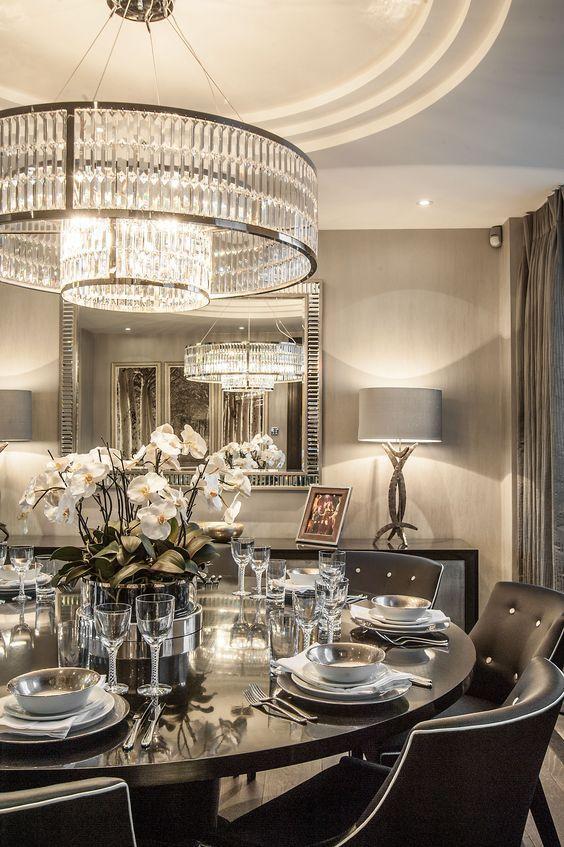 Best 25 Luxury dining room ideas on Pinterest