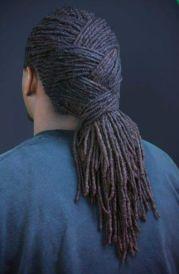 dreadlock braid style