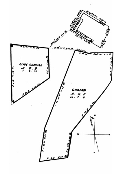 A plot plan shows the principal portion of the lands at