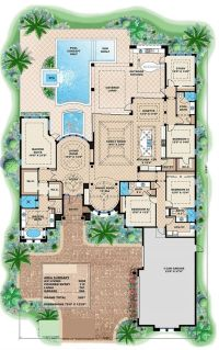 25+ best ideas about Luxury home plans on Pinterest ...