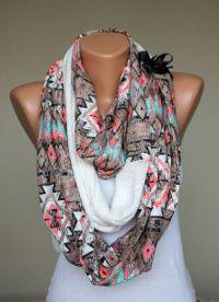tribal infinity scarf | My Style | Pinterest | Scarfs ...