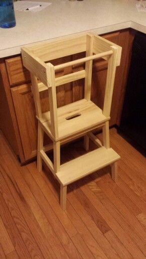 ikea kitchen step stool new cabinet doors ikea-hacked learning tower | tour apprentissage ...
