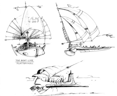 7 best images about Jabba's Sail Barge on Pinterest