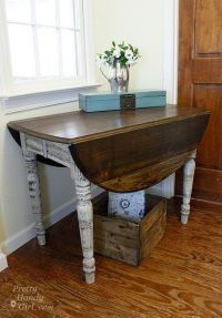 25+ best ideas about Distressed tables on Pinterest