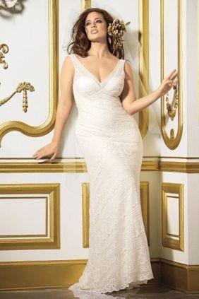 """Vestido de novia para gorditas de Waters - Modelo Pallas - Mas fotos en """"Vestidos de novia para gorditas 2014: conoce los mejores diseñadores!"""""""