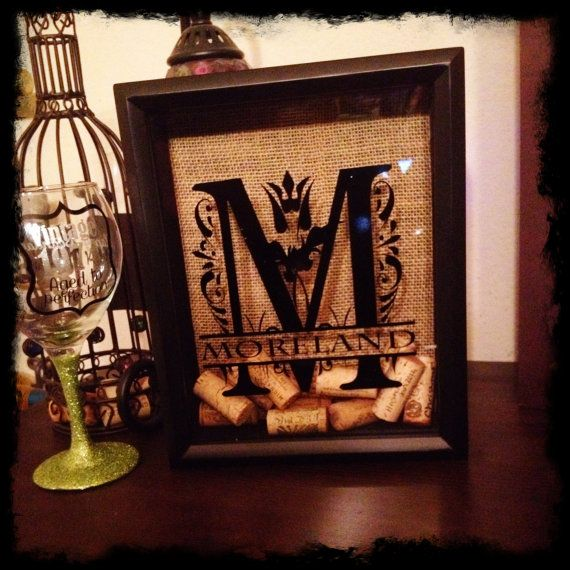 monogram wine cork holders
