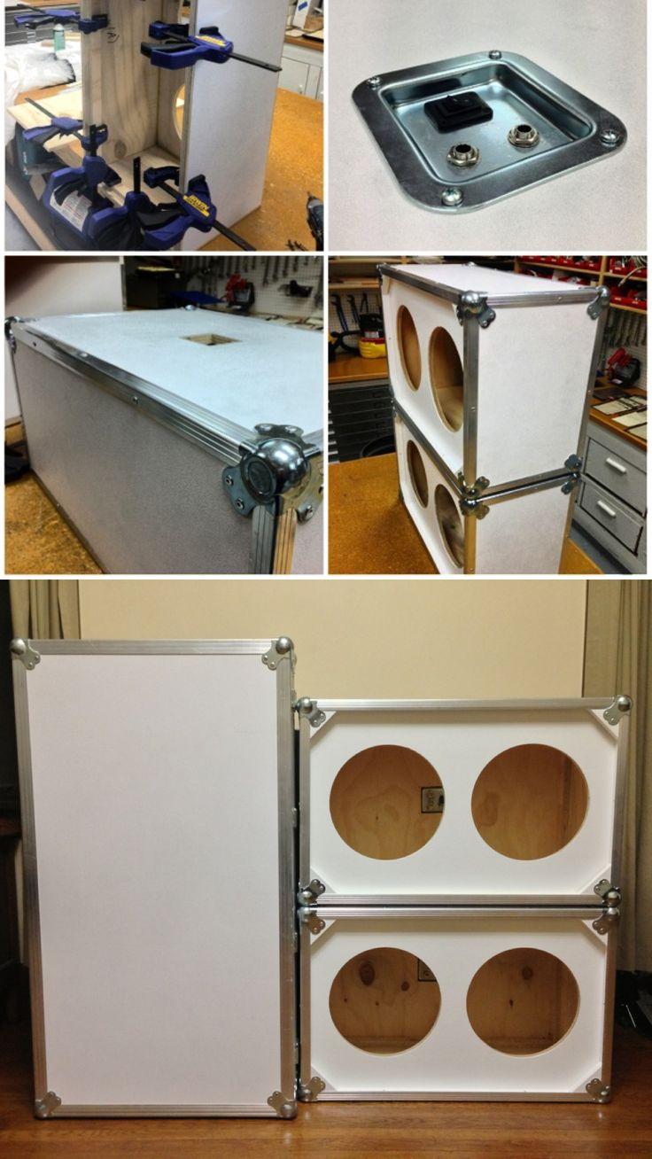 DIY Custom 2x12 guitar speaker cabinets  Carpentry