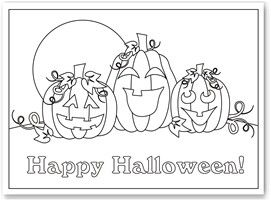 22 best images about Halloween Coloring Pages on Pinterest