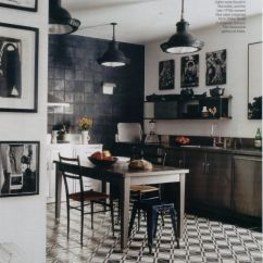 Black And White Tile Kitchen Cabinet Refacing Diy Tiles For My Web Value Outofhome