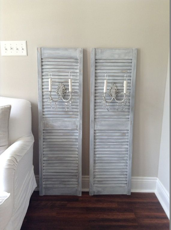 25 best ideas about Shutter wall on Pinterest Country