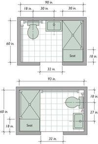 Best 20+ Small bathroom layout ideas on Pinterest | Tiny ...