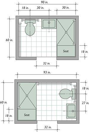 Best 25 Small bathroom layout ideas on Pinterest  Small bathroom ideas Small master bathroom