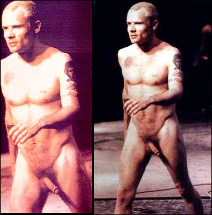 Flea Performing Nude  The Red Hot Chili Peppers
