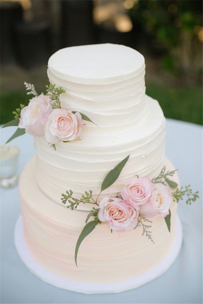 Best 25 Wedding cake simple ideas only on Pinterest  White wedding cakes Wedding cakes with