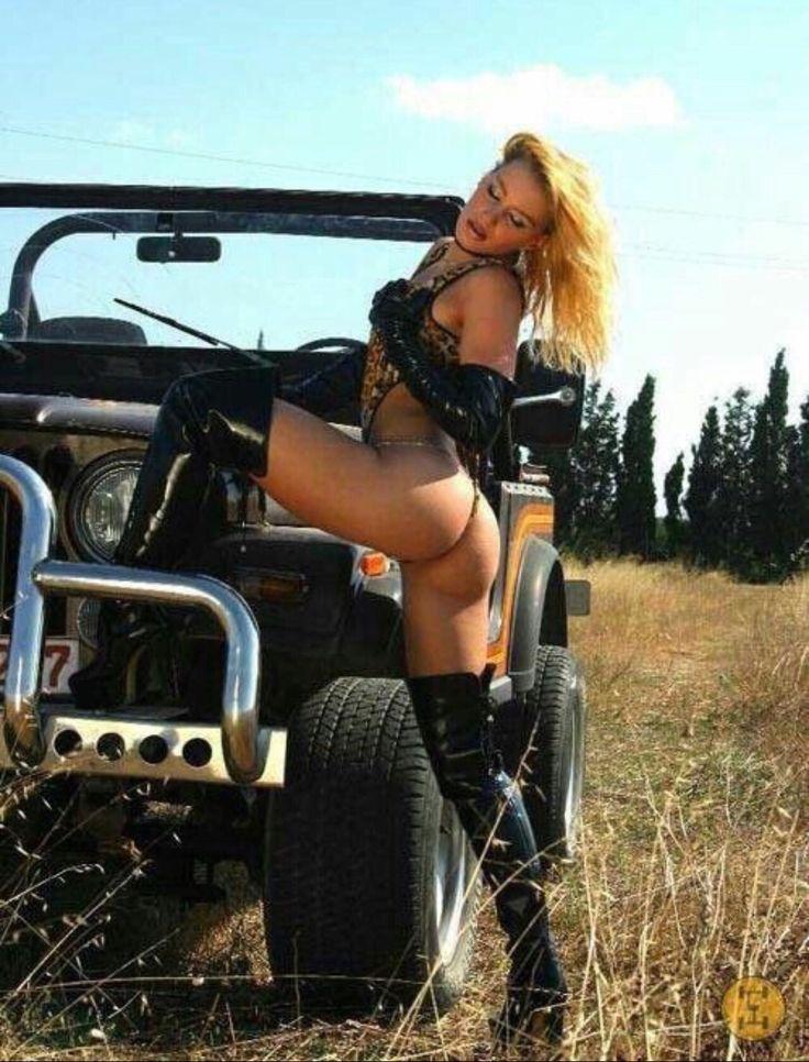 CJ Spa Day Jeep CJ7 Motorvation Salutes Fat Tires Big