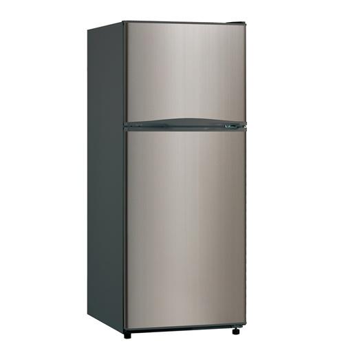 Avanti 10 Cubic Foot Platinum 2Door Apartment Refrigerator  Platinum  For the Tiny Home