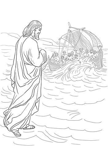 22 best BIBLE: JESUS WALKS ON WATER images on Pinterest
