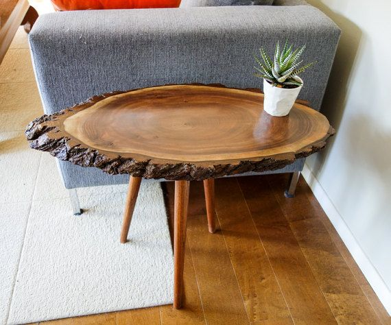 25+ Best Ideas About Tree Trunk Table On Pinterest