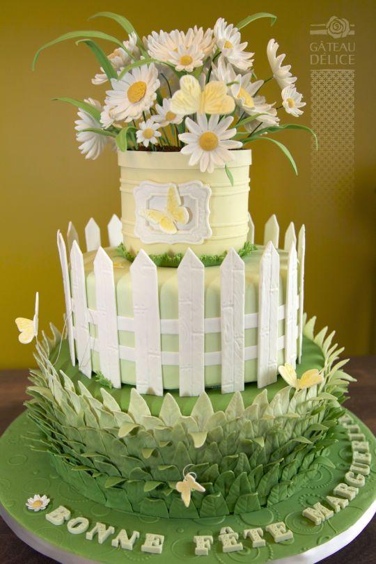 470 Best Images About Garden Cakes On Pinterest Gardens Garden
