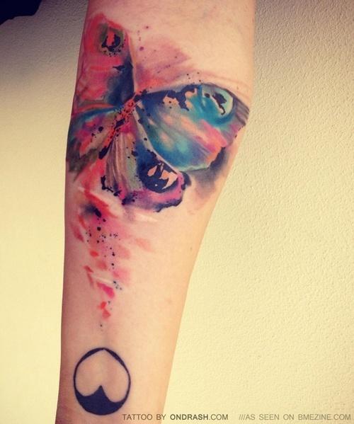aquarelle tattoo tattoos
