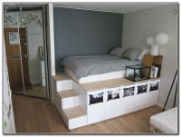 25+ best ideas about Platform bed with storage on ...