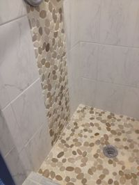 542 best Bathroom Pebble Tile and Stone Tile Ideas images ...