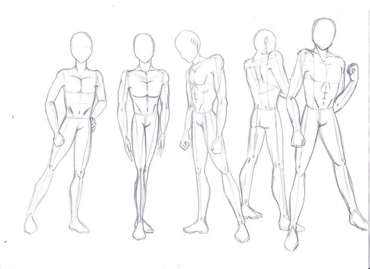 How To Draw A Anime Boy Body