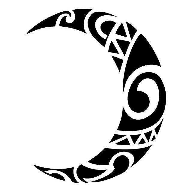 25+ best ideas about Tribal moon tattoo on Pinterest