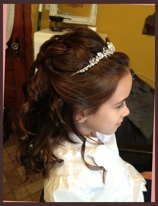 25 Best Ideas About Communion Hairstyles On Pinterest Flower