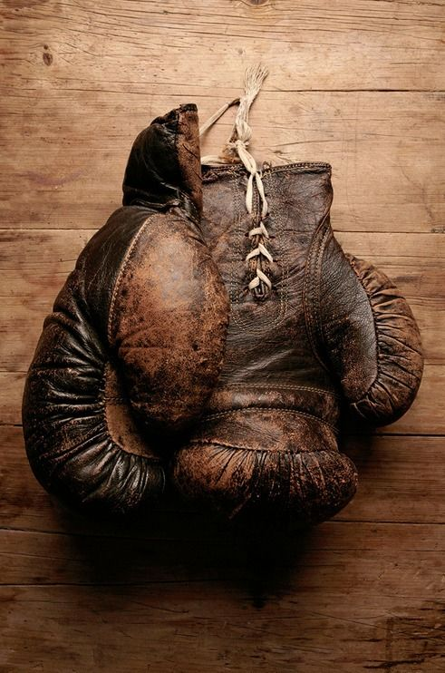 Dad was a Golden Glove Champion Boxer when he was in the service in WWII.  Fortunately it didn't last any longer than that. ;p