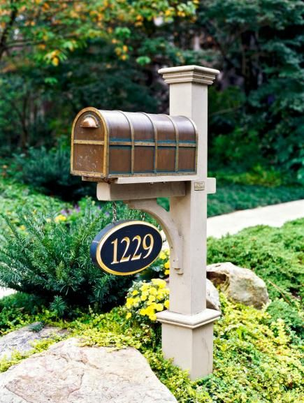 landscaping driveways mailboxes
