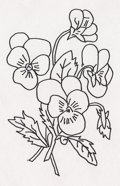 329 best images about Hearts & Flowers Embroidery patterns